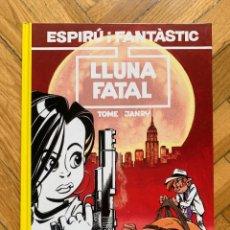 Cómics: ESPIRÚ: LES AVENTURES D'ESPIRU I FANTASTIC Nº 43: LLUNA FATAL - CATALÁ - IMPECABLE. Lote 254843530
