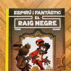Cómics: ESPIRÚ: LES AVENTURES D'ESPIRU I FANTASTIC Nº 32: EL RAIG NEGRE - CATALÁ - NUEVO. Lote 254843550