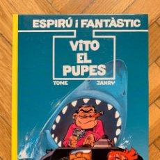 Cómics: ESPIRÚ: LES AVENTURES D'ESPIRU I FANTASTIC Nº 29: VITO EL PUPES - CATALÁ - NUEVO. Lote 254843575
