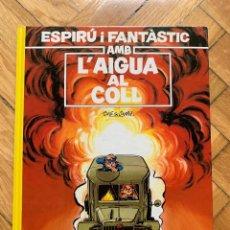 Cómics: ESPIRÚ: LES AVENTURES D'ESPIRU I FANTASTIC Nº 26: L'AIGUA AL COLL - CATALÁ - SIN ABRIR. Lote 254843735