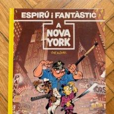 Cómics: ESPIRÚ: LES AVENTURES D'ESPIRU I FANTASTIC Nº 25: A NOVA YORK - CATALÁ - SIN ABRIR. Lote 254843760