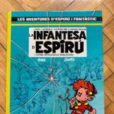 Cómics: ESPIRÚ: LES AVENTURES D'ESPIRU I FANTASTIC Nº 24: LA INFANTESA D'ESPIRÚ- CATALÁ - SIN ABRIR. Lote 254843780