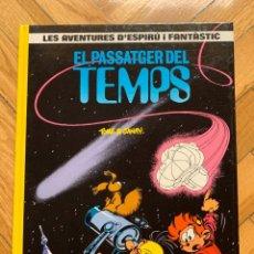 Cómics: ESPIRÚ: LES AVENTURES D'ESPIRU I FANTASTIC Nº 22: EL PASSATGER DEL TEMPS - CATALÁ - SIN ABRIR. Lote 254843865