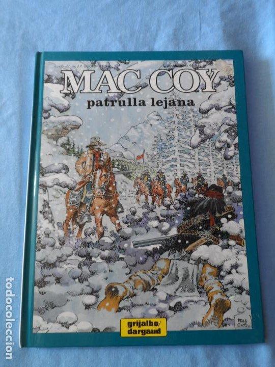 MAC COY Nº 20 PATRULLA LEJANA EDITORIAL GRIJALBO TAPA DURA (Tebeos y Comics - Grijalbo - Mac Coy)