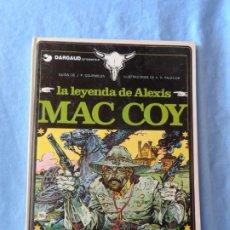 Cómics: MAC COY Nº 1 LA LEYENDA MAC COY EDITORIAL GRIJALBO ALBUM TAPA DURA 1989. Lote 254968615
