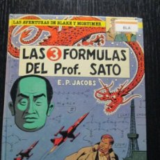 Comics : LAS 3 FORMULAS DEL PROF.SATO--BLAKE Y MORTIMER. Lote 254983760