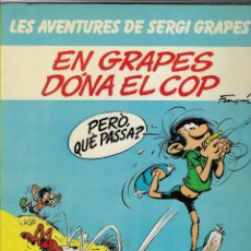 Cómics: LES AVENTURES DE SERGI GRAPES -- Nº 3 EN GRAPES DONA EL COP. Lote 255314670