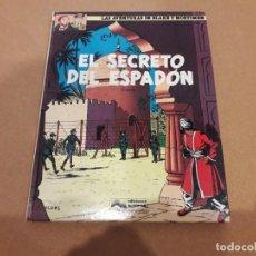 Comics : LAS AVENTURAS DE BLAKE Y MORTIMER - EL SECRETO DEL ESPADÓN 2ª PARTE (EDICIONES GRIJALBO JUNIOR) 1987. Lote 255421970