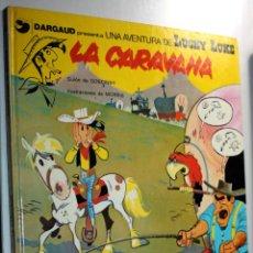 Cómics: UNA AVENTURA DE LUCKY LUKE ;TOMO 12:LA CARAVANA. GRIJALBO DARGAUD.. Lote 255533925