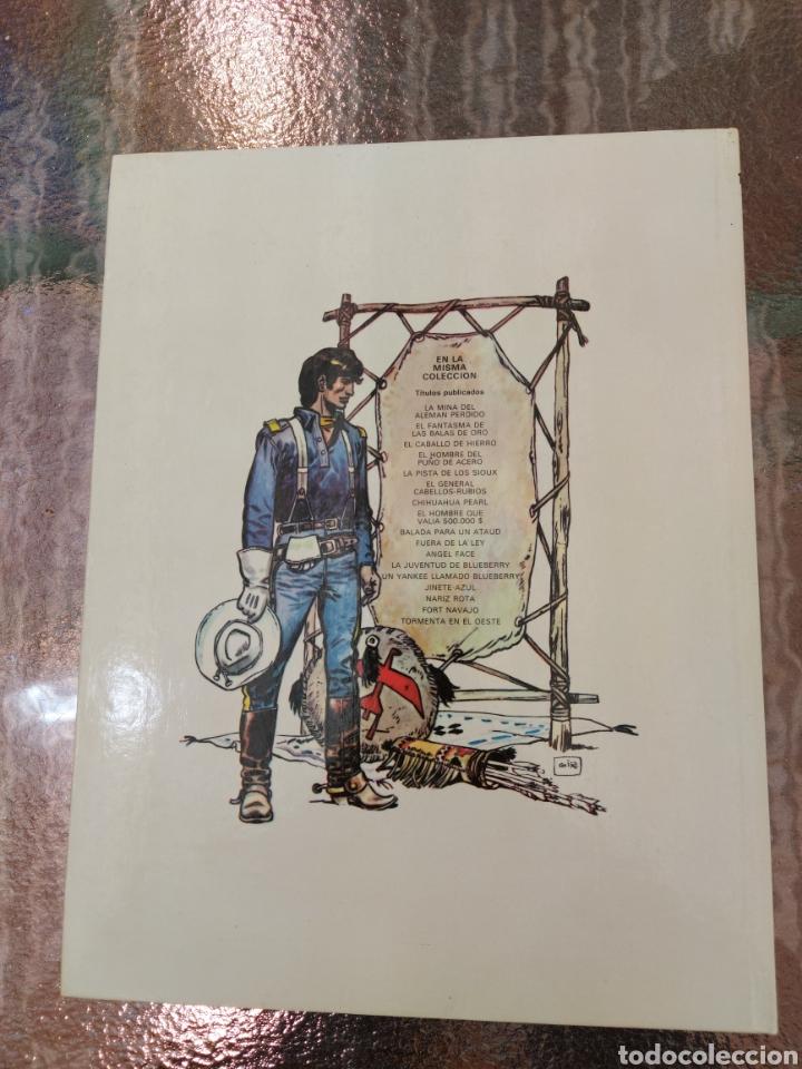 Cómics: TENIENTE BLUEBERRY TORMENTA EN EL OESTE, GRIJALBO DARGAUD, COMIC DEL OESTE - Foto 2 - 255539245