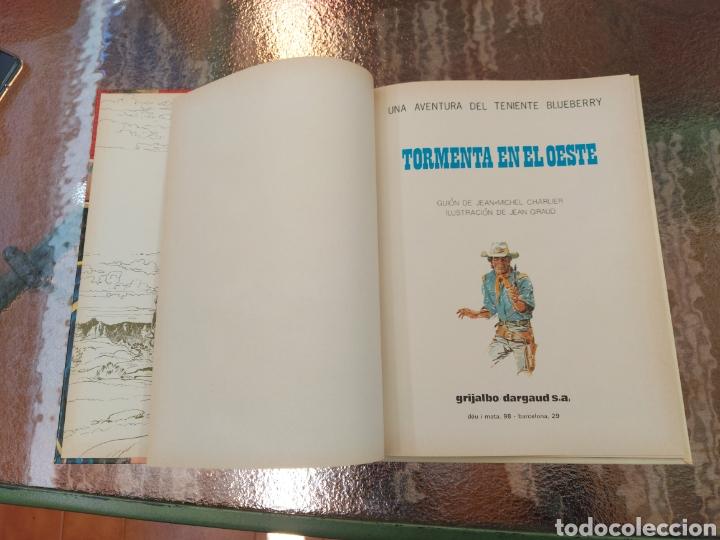 Cómics: TENIENTE BLUEBERRY TORMENTA EN EL OESTE, GRIJALBO DARGAUD, COMIC DEL OESTE - Foto 8 - 255539245
