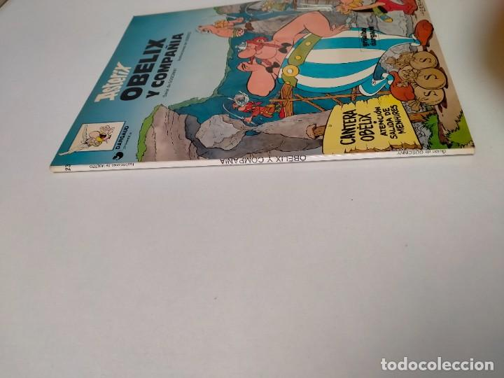 Cómics: Astérix Obélix y Compañía número 23 Tapa blanda Grijalbo-Dargaud 1994 - Foto 3 - 255580465