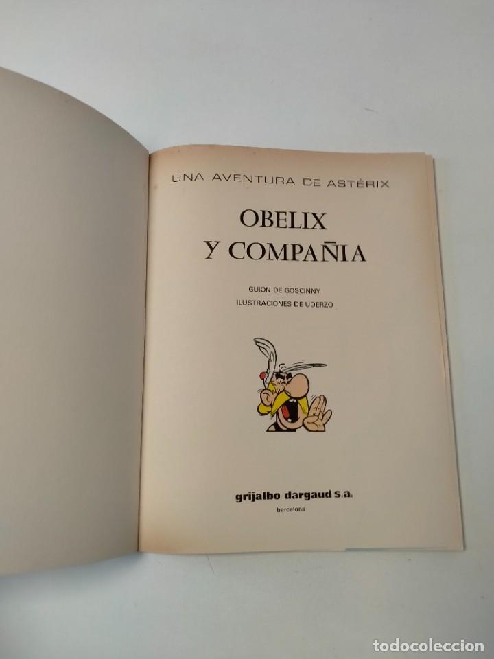 Cómics: Astérix Obélix y Compañía número 23 Tapa blanda Grijalbo-Dargaud 1994 - Foto 4 - 255580465