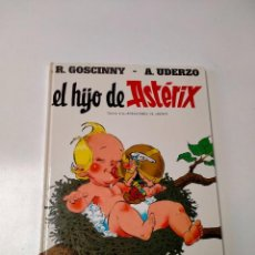 Cómics: ASTÉRIX EL HIJO DE ASTÉRIX NÚMERO 27 TAPA DURA EDICIONES JUNIOR 1990. Lote 255587755