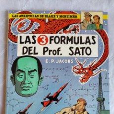 Cómics: COMIC: BLAKE Y MORTIMER - LAS 3 FORMULAS DEL PROF. SATO (1ª PARTE) - DE EDGAR P. JACOBS. Lote 255633645