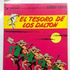 Cómics: LUCKY LUKE. EL TESORO DE LOS DALTON. MORRIS.. Lote 255954305