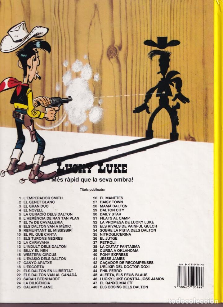 Cómics: CANYÓ APATXE - MORRIS GOSCINNY - LUCKY LUKE 17 - ED, JUNIOR 1992 - Foto 2 - 255984235
