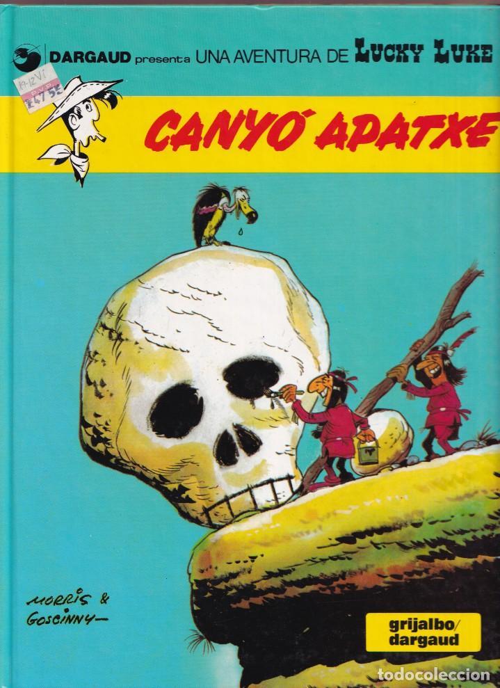 CANYÓ APATXE - MORRIS GOSCINNY - LUCKY LUKE 17 - ED, JUNIOR 1992 (Tebeos y Comics - Grijalbo - Lucky Luke)