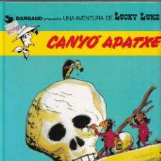 Cómics: CANYÓ APATXE - MORRIS GOSCINNY - LUCKY LUKE 17 - ED, JUNIOR 1992. Lote 255984235