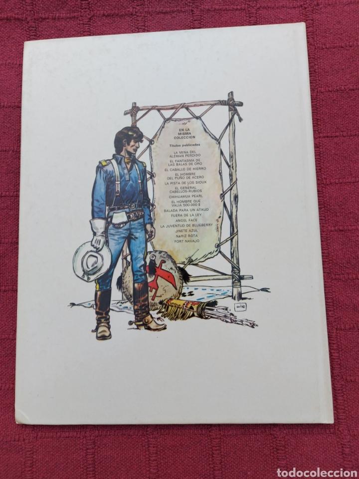 Cómics: TENIENTE BLUEBERRY FORT NAVAJO- GRIJALBO DARGAUD -COMIC DEL OESTE - Foto 2 - 256050430
