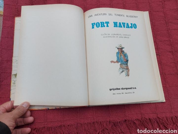 Cómics: TENIENTE BLUEBERRY FORT NAVAJO- GRIJALBO DARGAUD -COMIC DEL OESTE - Foto 8 - 256050430