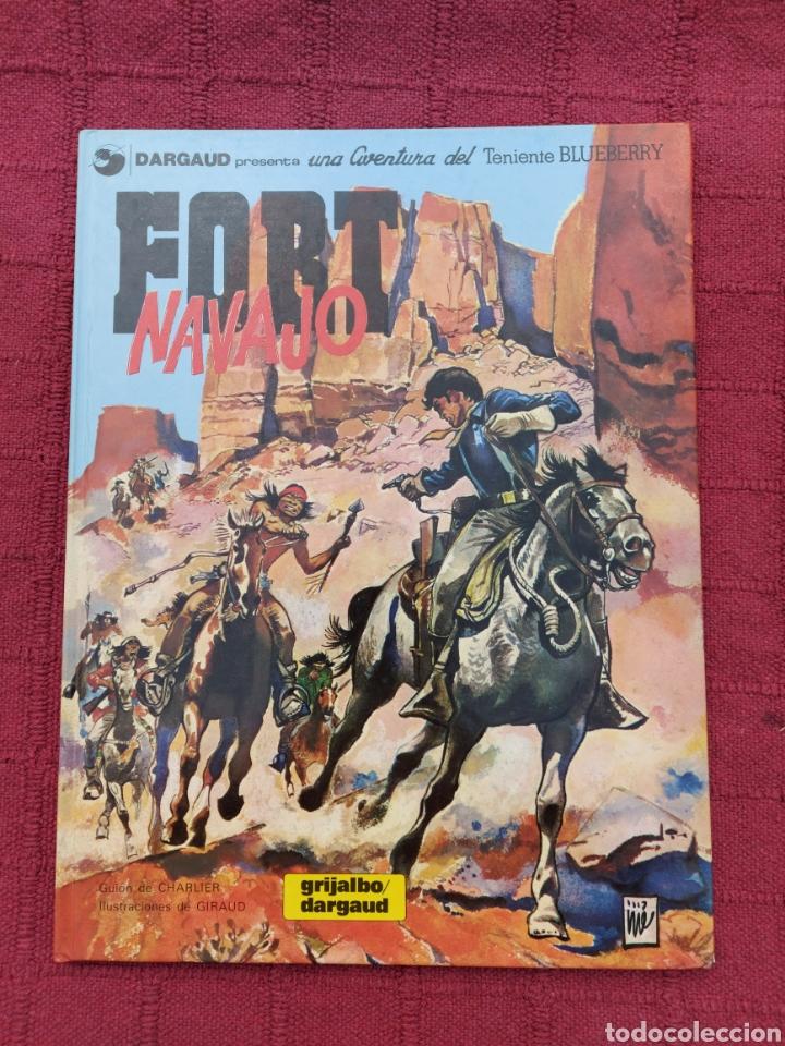 TENIENTE BLUEBERRY FORT NAVAJO- GRIJALBO DARGAUD -COMIC DEL OESTE (Tebeos y Comics - Grijalbo - Blueberry)