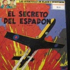 Cómics: EL SECRETO DEL ESPADON--PRIMERA PARTE--BLAKE Y MORTIMER. Lote 257286485