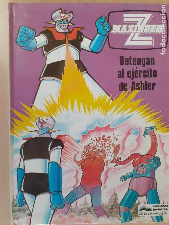 MAZINGER Z Nº 2. DETENGAN AL EJÉRCITO DE ASHLER. EDICIONES JUNIOR. EDITORIAL GRIJALBO 1978 (Tebeos y Comics - Grijalbo - Otros)