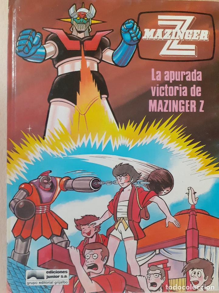 MAZINGER Z Nº 4. LA APURADA VICTORIA DE MAZINGER Z. EDICIONES JUNIOR. EDITORIAL GRIJALBO 1978 (Tebeos y Comics - Grijalbo - Otros)