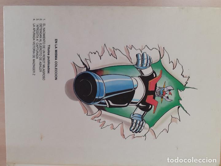 Cómics: Mazinger Z Nº 4. La apurada victoria de Mazinger Z. Ediciones Junior. Editorial Grijalbo 1978 - Foto 3 - 257305020