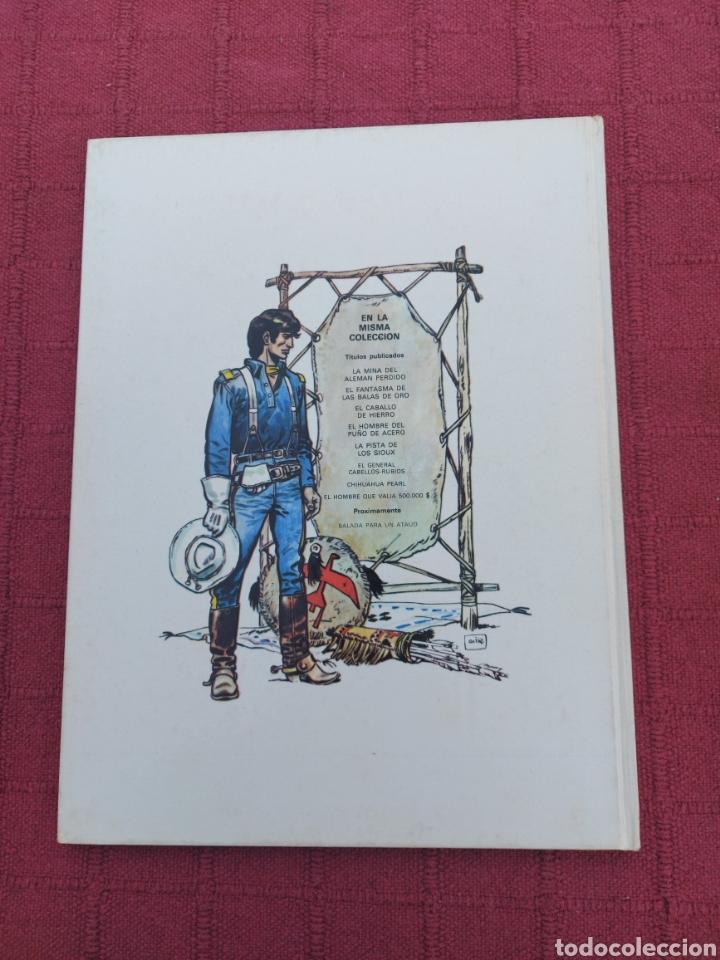 Cómics: TENIENTE BLUEBERRY- EL FANTASMA DE LAS BALAS DE ORO-EDICIONES JUNIOR S,A, GRIJALBO DARGAUD-OESTE - Foto 2 - 257311375