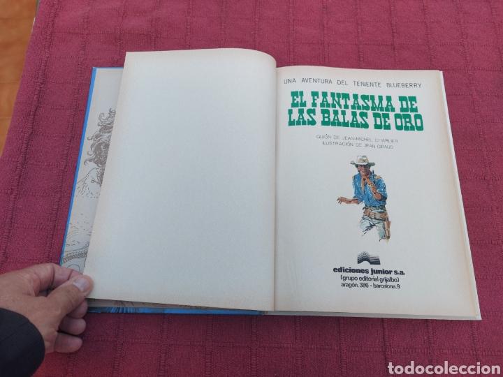 Cómics: TENIENTE BLUEBERRY- EL FANTASMA DE LAS BALAS DE ORO-EDICIONES JUNIOR S,A, GRIJALBO DARGAUD-OESTE - Foto 9 - 257311375