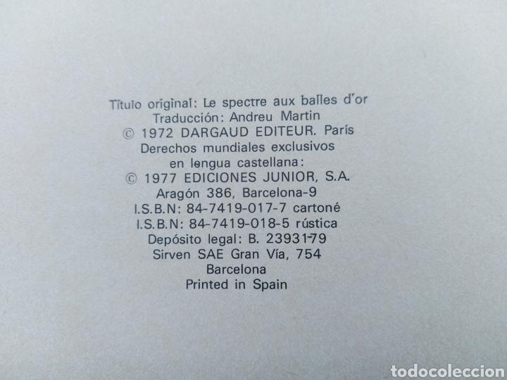 Cómics: TENIENTE BLUEBERRY- EL FANTASMA DE LAS BALAS DE ORO-EDICIONES JUNIOR S,A, GRIJALBO DARGAUD-OESTE - Foto 11 - 257311375