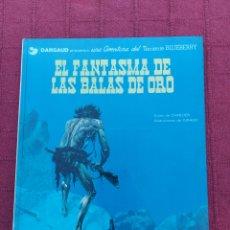 Cómics: TENIENTE BLUEBERRY- EL FANTASMA DE LAS BALAS DE ORO-EDICIONES JUNIOR S,A, GRIJALBO DARGAUD-OESTE. Lote 257311375