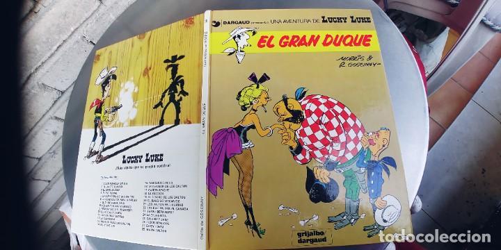 LUCKY LUKE Nº 3: EL GRAN DUQUE / MORRIS - GOSCINNY / GRIJALBO DARGAUD 1982 (Tebeos y Comics - Grijalbo - Lucky Luke)