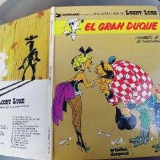 Cómics: LUCKY LUKE Nº 3: EL GRAN DUQUE / MORRIS - GOSCINNY / GRIJALBO DARGAUD 1982. Lote 257318405