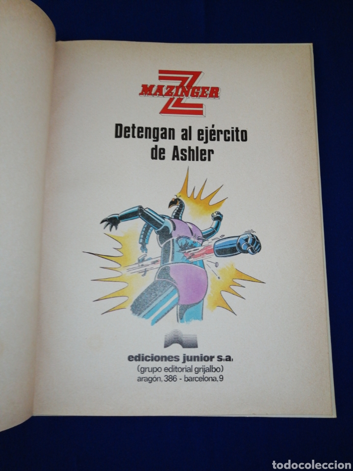 Cómics: MAZINGUER número 2 - DETENGAN AL EJÉRCITO DE ASHLER - Foto 7 - 257442455