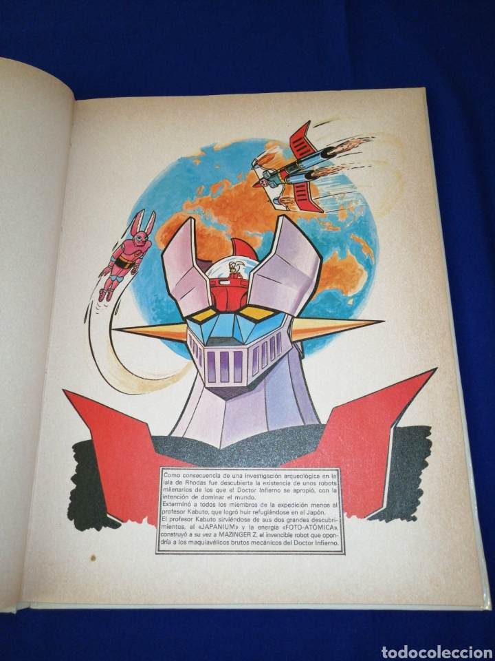 Cómics: MAZINGUER número 1 EL NACIMIENTO DE UN ROBOT - Foto 8 - 257445270