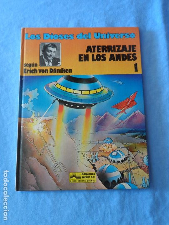 LOS DIOSES DEL UNIVERSO Nº 1 TAPA DURA EDITORIAL GRIJALBO (Tebeos y Comics - Grijalbo - Otros)