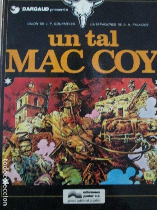 UN TAL MC COY --GOURMELEN--PALACIOS (Tebeos y Comics - Grijalbo - Mac Coy)