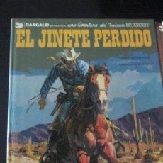 Cómics: BLUEBERRY --EL GINETE PERDIDO-CHARLIER-GIRAUD. Lote 257799285