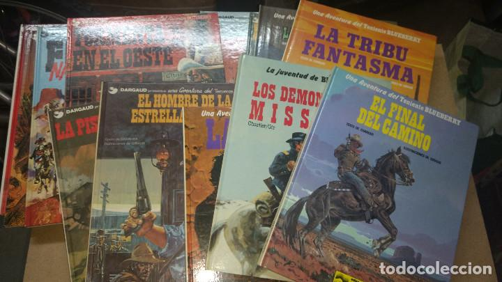 LOTE 13 TOMOS BLUEBERRY -Nº 8-12-16 -17-18-19-20-21-22-23-24-25- 26, - GRIJALBO (Tebeos y Comics - Grijalbo - Otros)