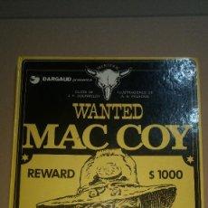 Cómics: MAC COY. Nº 5. GOURMELEN/PALACIOS, EDIT. GRIJALBO TOMO DIFICIL. Lote 258018180