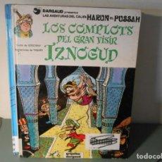 Cómics: LOS COMPLOTS DEL GRAN VISIR. Lote 258164285