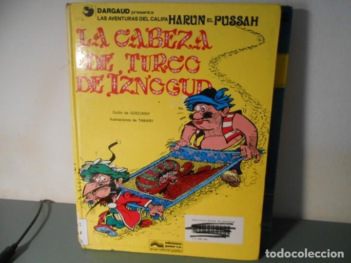 LA CABEZA DE TURCO DE IZNOGUD (Tebeos y Comics - Grijalbo - Iznogoud)