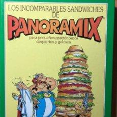 Cómics: LOS INCOMPARABLES SANDWICHES DE PANORAMIX. UDERZO. TIMUN MAS. ASTERIX. Lote 258205770