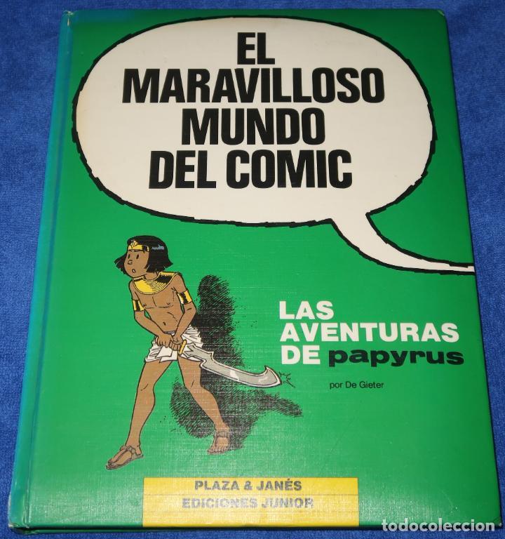 LAS AVENTURAS DE PAPYRUS - EL MARAVILLOSO MUNDO DEL COMIC - GRIJALBO (1987) (Tebeos y Comics - Grijalbo - Papyrus)