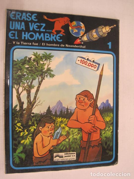 Cómics: ERASE UNA VEZ EL HOMBRE-COLECCIÓN COMPLETA 13 COMICS-EDICIONES JUNIOR-VER FOTOS-(V-22.692) - Foto 2 - 259332195