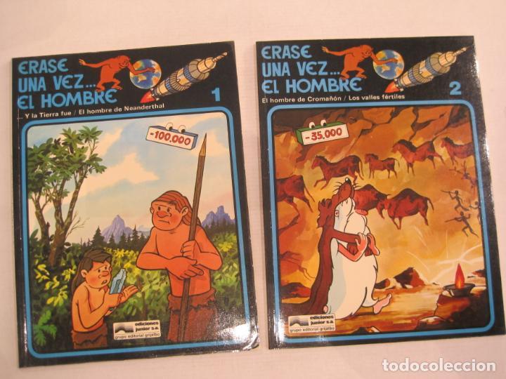 Cómics: ERASE UNA VEZ EL HOMBRE-COLECCIÓN COMPLETA 13 COMICS-EDICIONES JUNIOR-VER FOTOS-(V-22.692) - Foto 6 - 259332195
