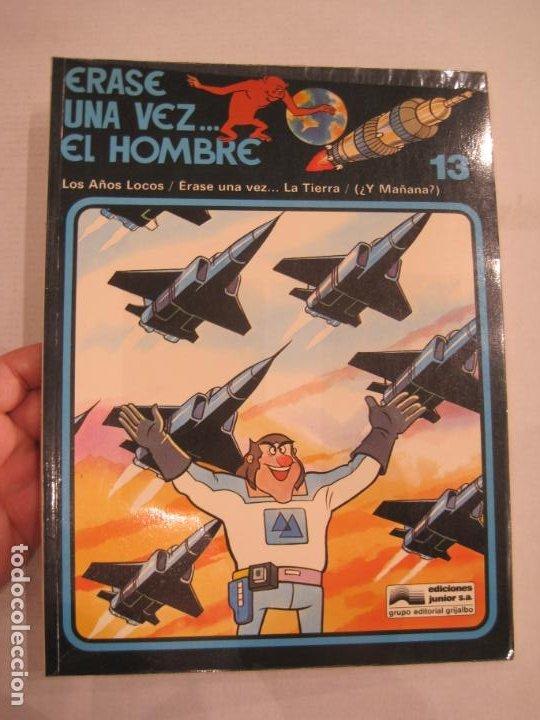 Cómics: ERASE UNA VEZ EL HOMBRE-COLECCIÓN COMPLETA 13 COMICS-EDICIONES JUNIOR-VER FOTOS-(V-22.692) - Foto 13 - 259332195